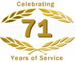 Celebrating 71 Years of Service